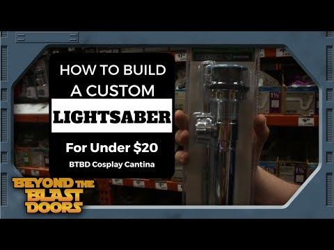 How to Build a Custom Lightsaber Hilt Under $20 - Part 1