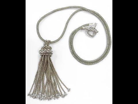 Jewel School:Tassel Necklace