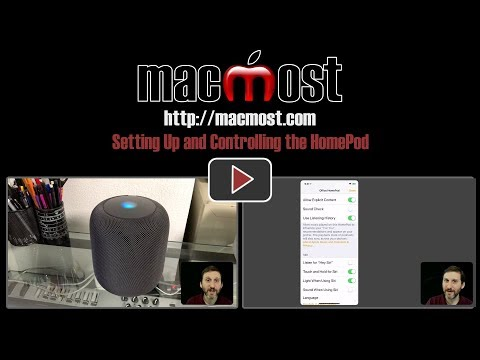 Setting Up and Controlling the HomePod (#1592)