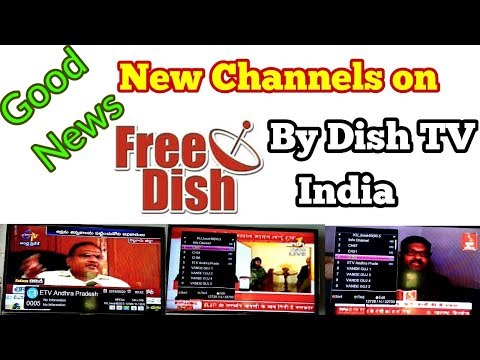 Breaking News. New Channels on DD Free Dish by Dish TV