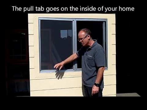 How to Measure for new Screens in Aluminum Windows...