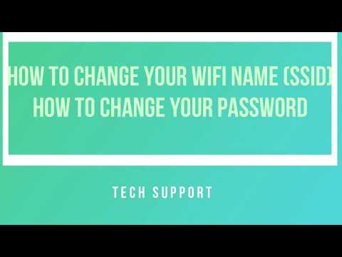 How to change your WiFi name and Password on a Pocket Wifi