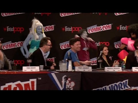 Cartoon Network Panel ComiCon NYC 2014