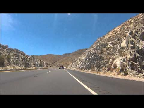 Motorcycle ride from Yuma, AZ to San Diego, CA (210 miles)