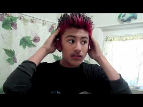 How I Spike Up My Hair