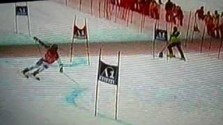 Victoire Didier Cuche GS Sölden 25.10.2009 2ème manche