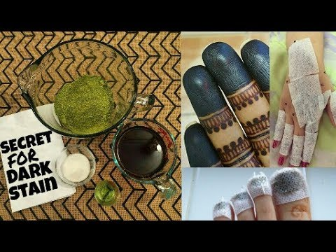 Secret for dark stain(How to make mehndi paste at home for dark stain)|henna paste | Beautiful You