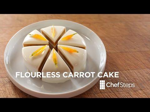 Flourless Carrot Cake • ChefSteps