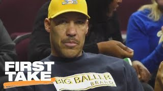 First Take Reacts To LaVar Ball Pulling AAU Team Off Court | First Take | ESPN
