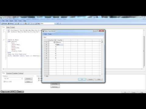 QlikView tutorial | QlikView Scripting | QlikView Load Inline