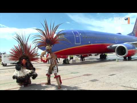 Southwest Airline arrives in Cancun