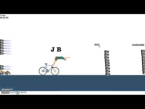 Rapid Plays Happy Wheels!!