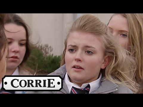 Coronation Street - Bethany Gets Bullied At School