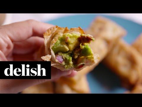 Avocado Egg Rolls | Delish