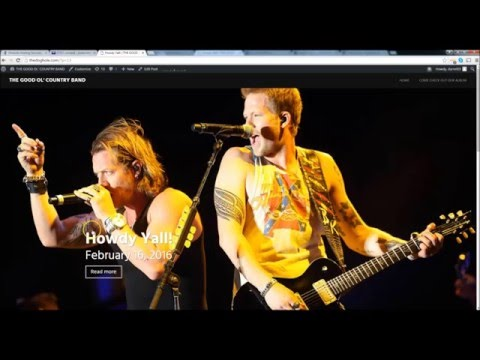 How to make a Free Wordpress Website for Music or Fanpages - Beginners Tutorial 2016