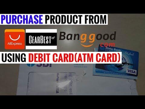 Buy from aliexpress using Debit Card( SBI ATM)100% practical