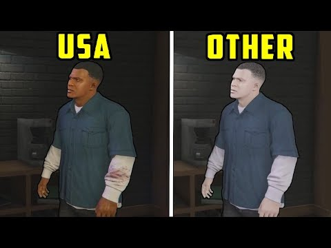 10 THINGS IN GTA 5 THAT LOOK DIFFERENT IN OTHER COUNTRIES