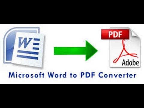 WORD TO PDF CONVERT ONLINE