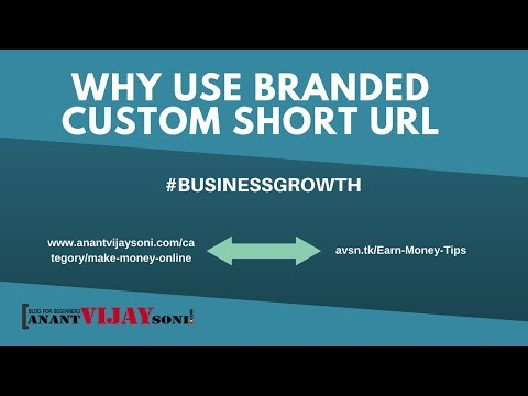 Why Use Branded Custom Short URL or Domain | #BusinessGrowth