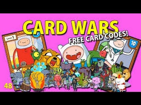 Card Wars - Card codes *New* Free