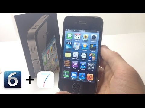 Dual Boot/Downgrade IOS 6.1.3 & 7.1.2 iPhone 4