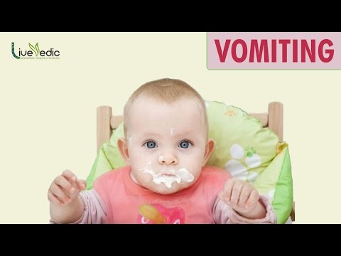 DIY: Best Cure For Kids Vomiting with Natural Home Remedies | LIVE VEDIC