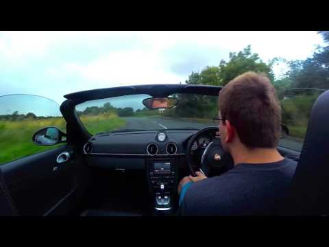 Porsche Boxster S (987 Gen II) - Acceleration and Ext. Mic test