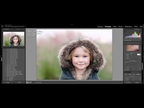 How use use the HSL Panel in Lightroom to get good skin tones