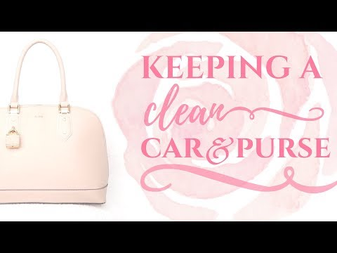 FLYLADY CAR & PURSE DAY | CLEAN WITH ME