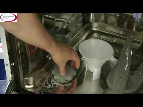 LG Service Academy EU - How to fill the dishwasher supplements