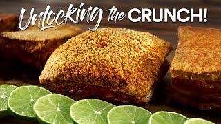 Unlocking CRISPY PORK BELLY Secrets | Guga Foods