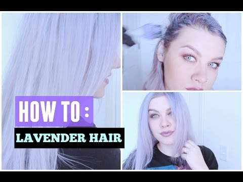 HOW TO GET LAVENDER / LILAC HAIR  | MELISSA MIXES