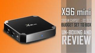 Hindi || x96 mini android tv box review