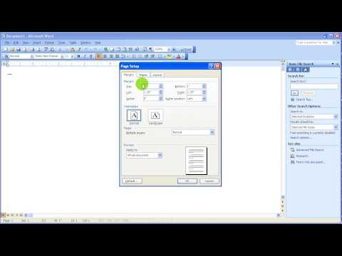 Microsoft Word 2003 - Printing, Lists and Basic Formatting