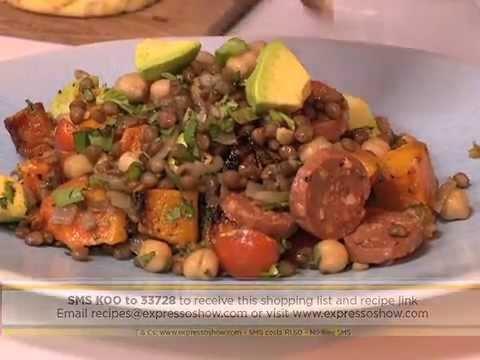 A sensational KOO summer salad on the Expresso Show