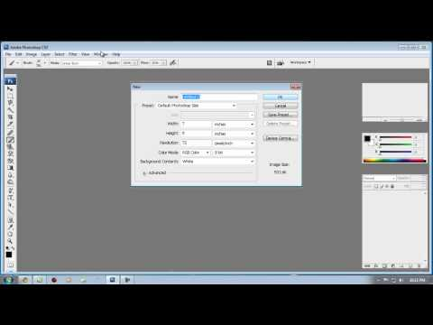 how to download and install brushes for photoshop CS3...
