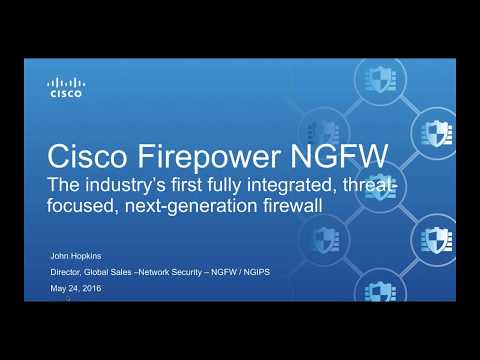 Cisco Security NGFW Overview & Updates