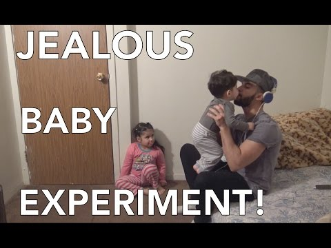 JEALOUS BABY EXPERIMENT!!!