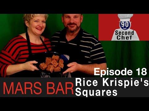 Mars Bar Rice Krispie square  90SC_SE01EP18