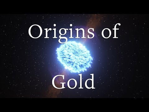 Origins of universe's gold discovered in neutron star mergers