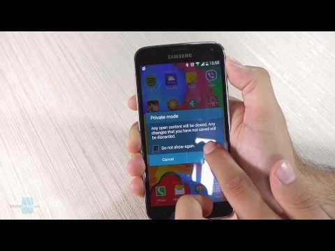 Galaxy S5 Tips & Tricks: Private Mode