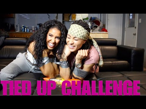 TIED UP CHALLENGE with my GF!