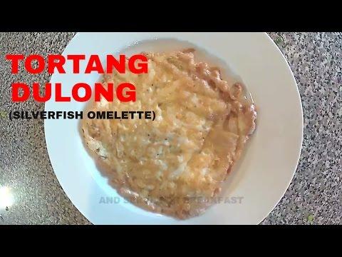 Tortang Dulong (Silverfish Omelette)