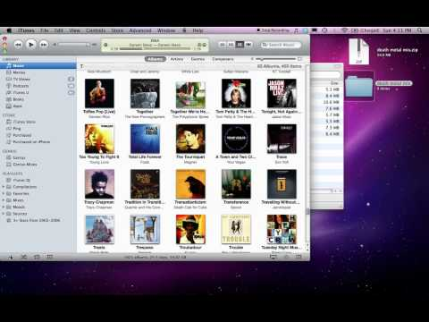 How to import a mix as a playlist in iTunes (Mac OS)