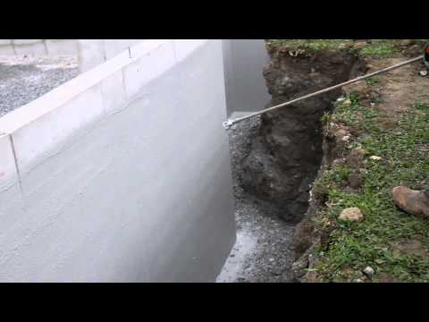 Waterproofing Foundation Wall + Foundation Coating + Basement Waterproofing + Deco Seal