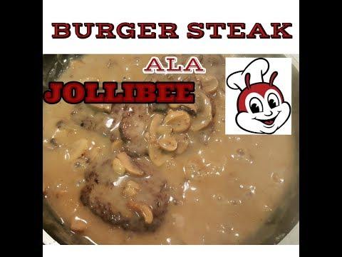 The best Jollibee style burger steak recipe | Canada | Pinay Peg