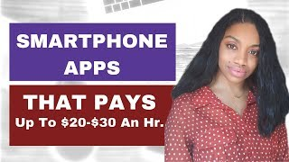 Download Smartphone Apps That Pay! Earn Up to $35 An Hour! Video
