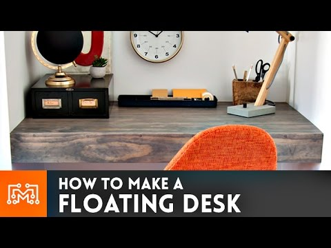 Floating Desk // How-To