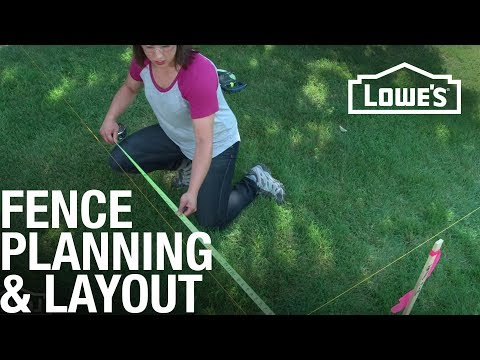 Fence Planning & Layout