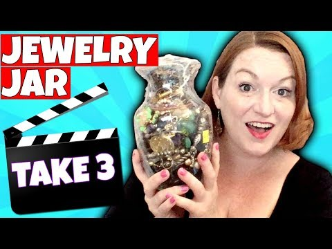 GOLD! Goodwill Jewelry Jar Unboxing 2018 - Did I Waste My Money?